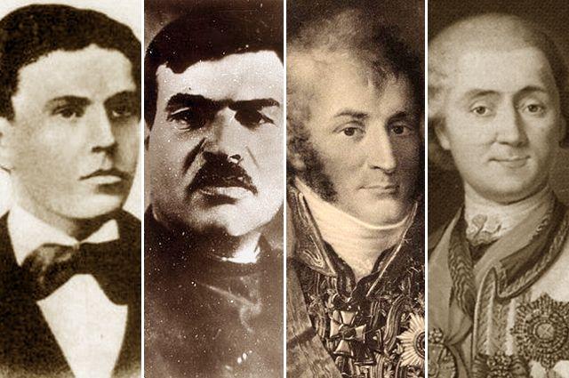 Игнатий Гриневицкий, Яков Юровский, Николай Зубов, Алексей Орлов