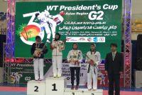 Ноябрьская тхэквондистка вернулась из Ирана с бронзовой наградой