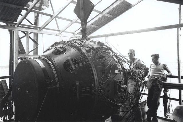 Первый взрыв ядерной бомбы показали на отреставрированной пленке