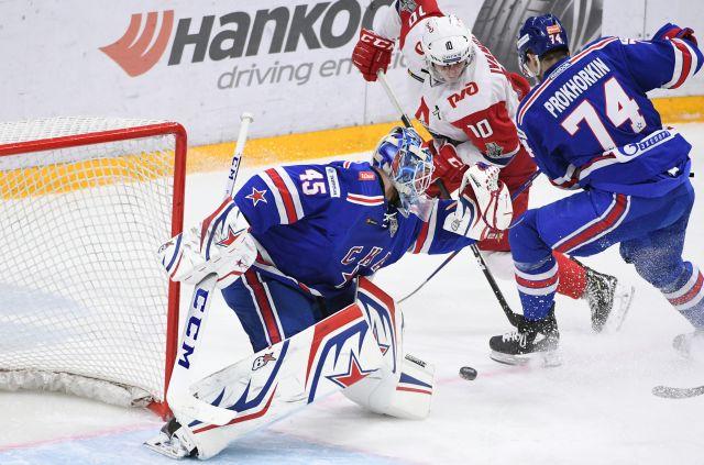 СКА выиграл матч с «Локомотивом» во втором раунде плей-офф КХЛ