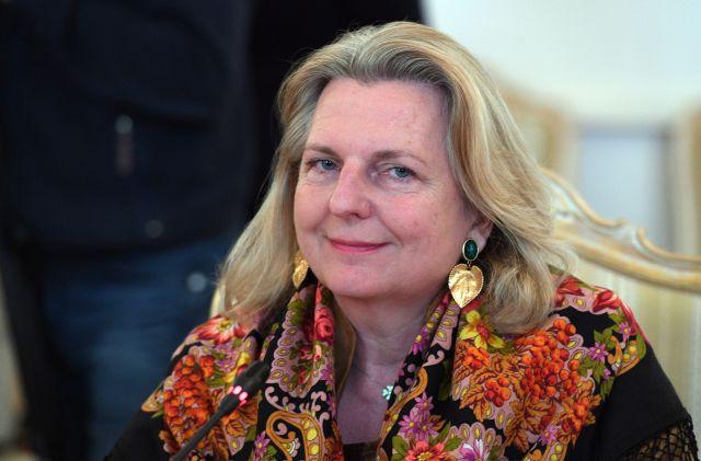 Глава МИД Австрии сообщила о встрече с Путиным в Москве