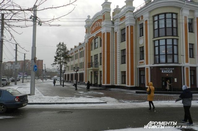Реконструкцию здания начали в 2005 году.