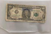 Оренбуржец нашел на улице фальшивую купюру номиналом $100