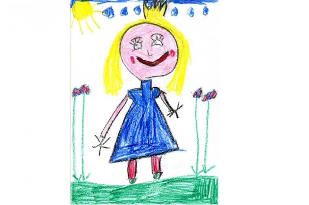 Вероника Гутова, 6 лет
