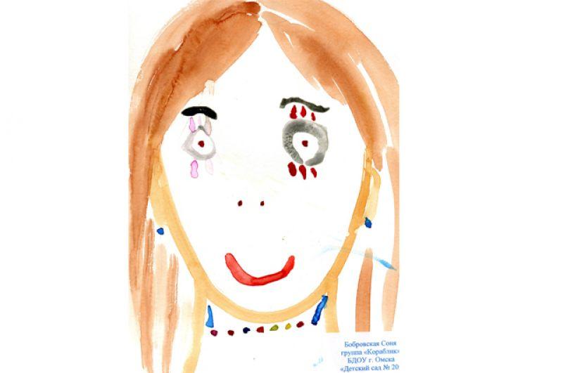 София Бобровская, 6 лет
