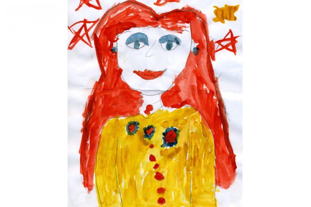 Лиза Головань, 5 лет