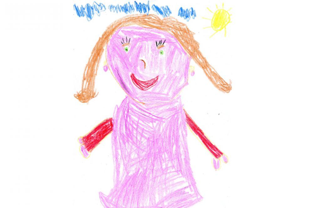 Лиза Насонова, 6 лет