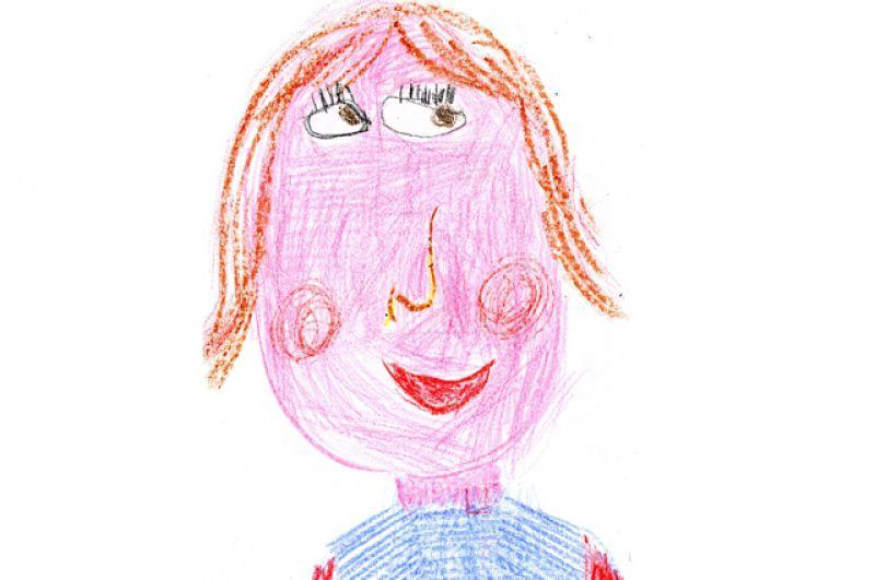Юля Никитина, 6 лет