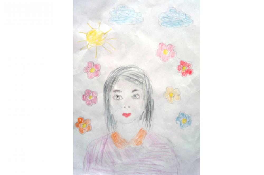 Аня Половинко, 4 года