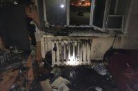 Пожар произошёл на третьем этаже. Хозяин этой квартиры отравился продуктами горения.