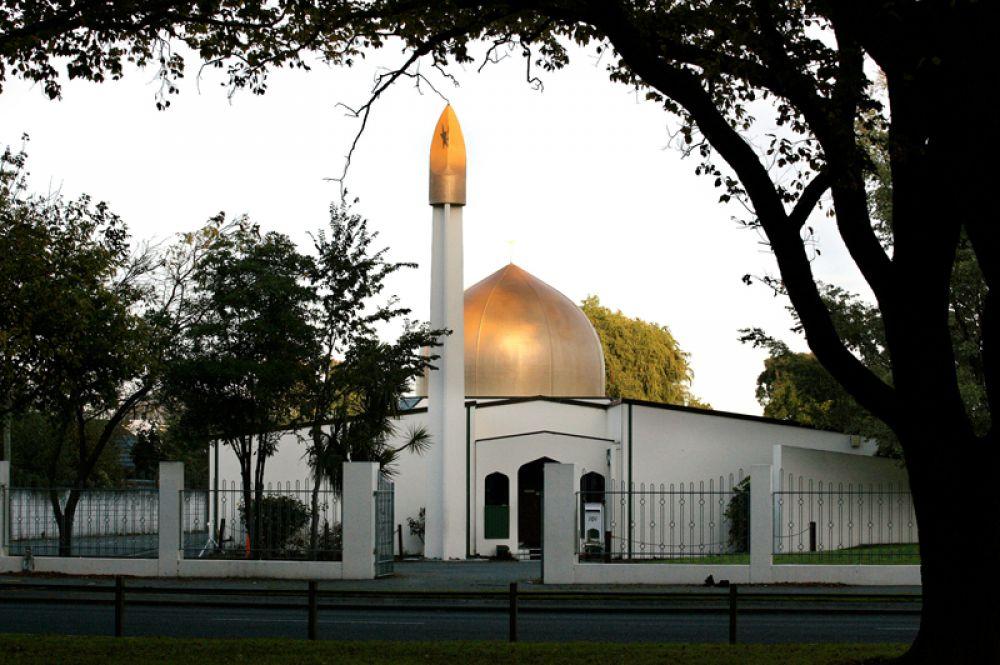 Мечеть Аль Нур на Динс-авеню в Крайстчерче.