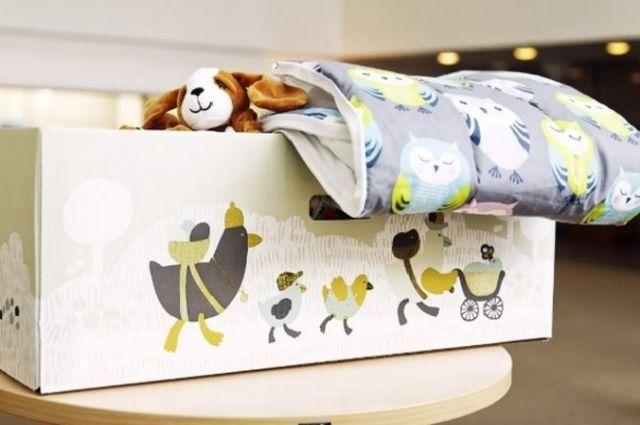 «Пакет малыша» получили уже около 144 тысяч детей.