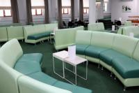 В аэропорту Нового Уренгоя обновили интерьер зала повышенной комфортности