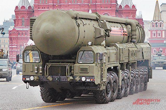 Россия активно перевооружает свои стратегические ядерные силы