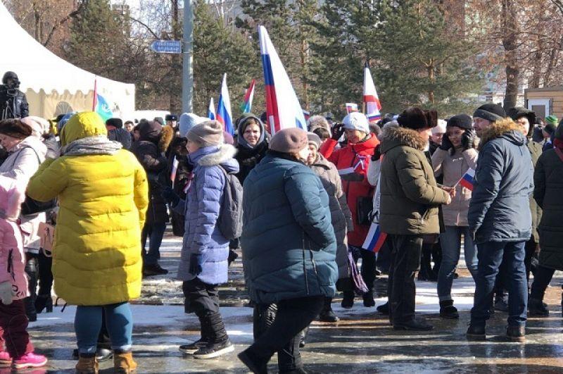 Крымская весна в Тюмени
