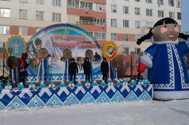 В Новом Уренгое стартовал Праздник народов Севера