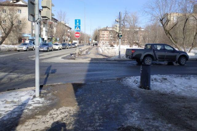 Девочка получил травмы на улице Боровая.