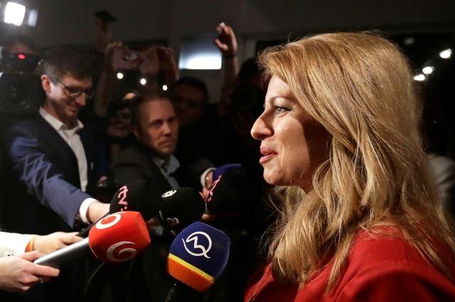 На Украине выборы только начались, а вот словаки себе президента уже выбрали