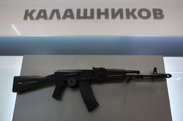 Автомат АК-74.