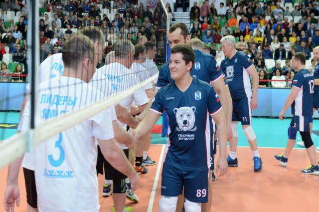 В Новом Уренгое подвели итоги благотворительного турнира по волейболу