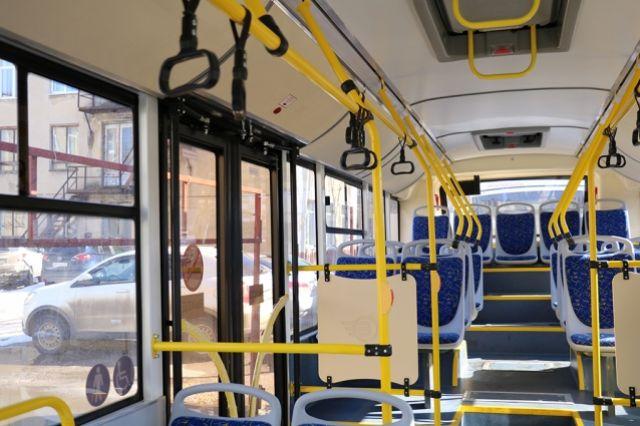 Тюменский автобус изменит маршрут