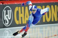 Алтайский конькобежец Виктор Муштаков