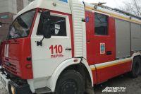 В Оренбурге 11 человек тушили квартиру на ул. Розы Люксембург