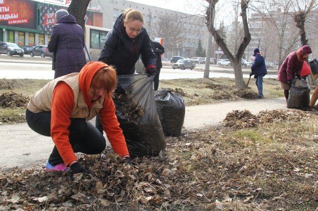 В Омске в середине апреля начнётся месячник чистоты