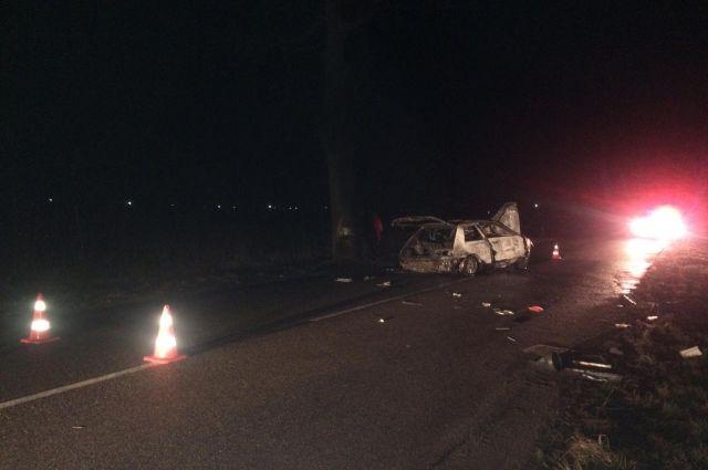 В Гурьевском районе в ДТП погиб один человек, двое в больнице
