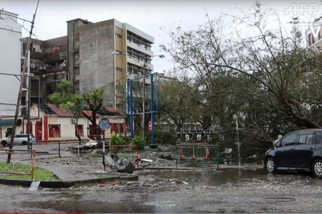 Второй по величине город Мозамбика почти полностью разрушен циклоном