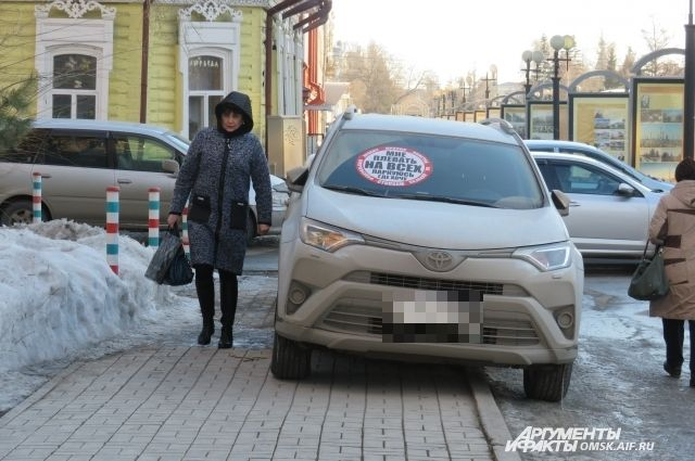 В Омске активисты проекта «СтопХам» прошлись по центру города