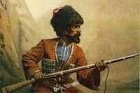 Многим кажется, что и сегодня можно жить, как сотни лет назад. На фото: участник Кавказской войны.