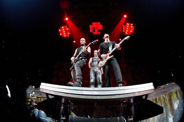 Группа Rammstein перенесла свой концерт в Москве в «Лужники»