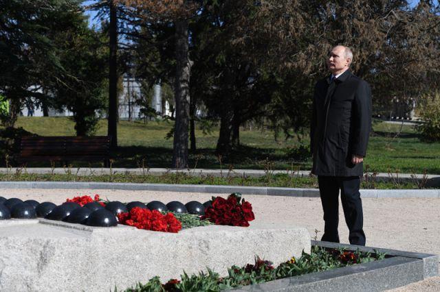Визит Владимира Путина в Крым