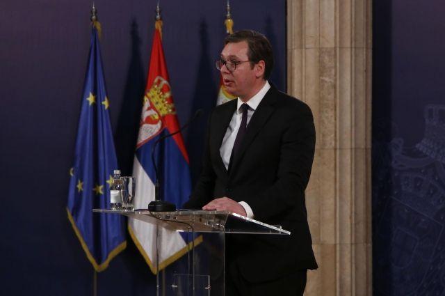 Вучич прогнозирует более жесткие акции оппозиции в Сербии