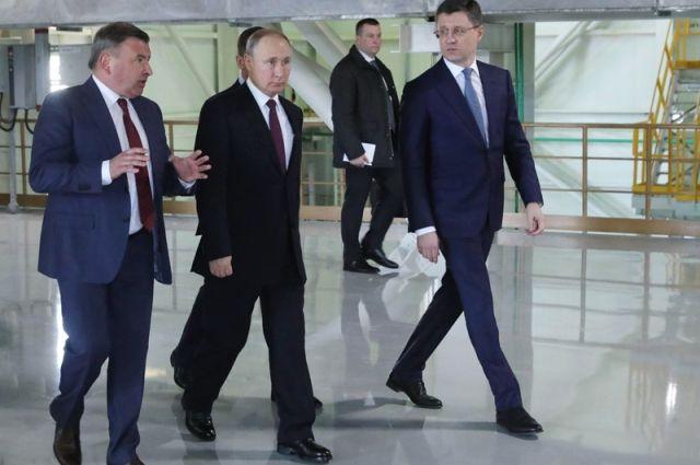 Путин в Крыму принимает делегацию из Франции