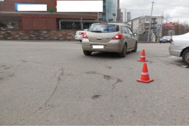 На улице Озерова 76-летний пешеход попал под колёса