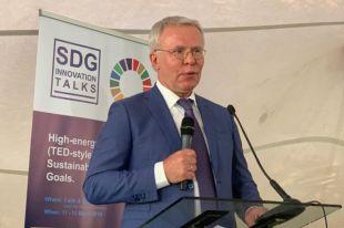 Вячеслав Фетисов на 4-ой Генеральной Ассамблее ЮНЕП в Найроби, Кения.