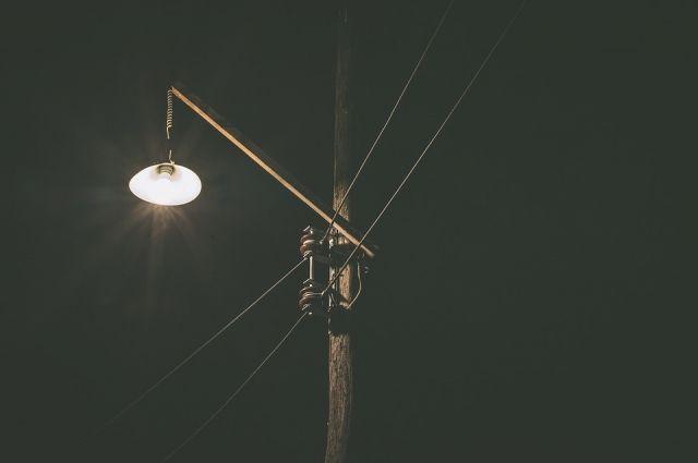 Не все улицы в Красноярске освещены.