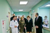 В Оренбурге Валентина Матвиенко посетила перинатальный центр и «Стрелу»