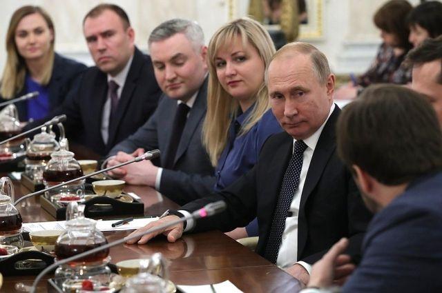 Президент отметил профессионализм победителя конкурса Петра Вагина