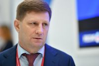 Губернатор Хабаровского края Сергей Фургал.