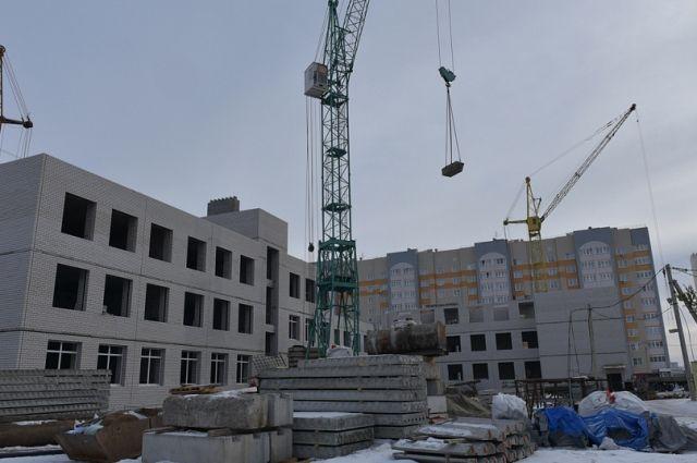 Строительство школы в Барнауле