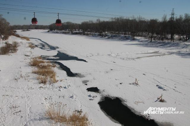 Паводок в Удмуртии ожидается в первой декаде апреля.