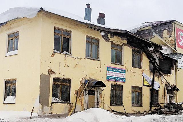 Обвалившееся здание в Куеде, скорее всего, снесут.