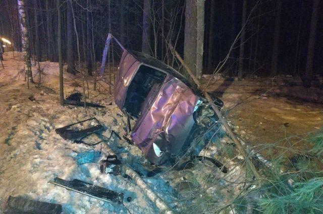 В момент аварии водитель был трезв.