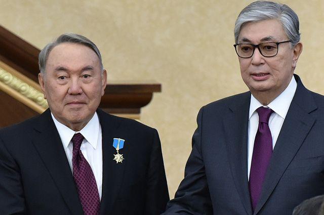 Нурсултан Назарбаев и Касым-Жомарт Токаев.