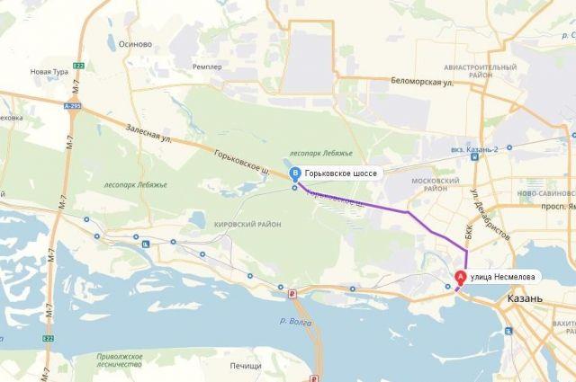 Дорогу построят от ул. Несмелова до трассы М-7