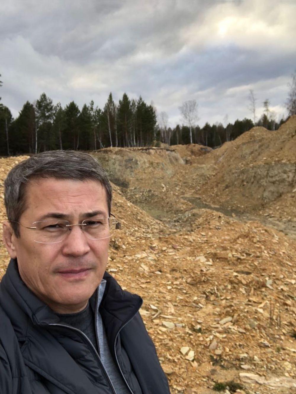 После поездки в Баймакский район в октябре 2018 года была начата борьба с незаконной добычей полезных ископаемых.