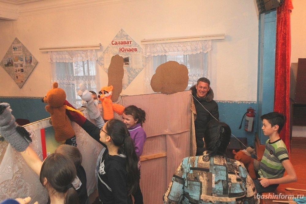 В деревне Мурсалимкино Салаватского района на репетиции спектакля